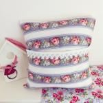 Soft woollen cushion, with vintage ..