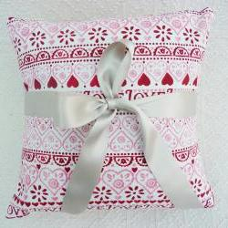 sampler cushion covers (emma bridgewater fabric)